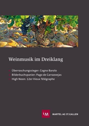 Weinmusik im Dreiklang