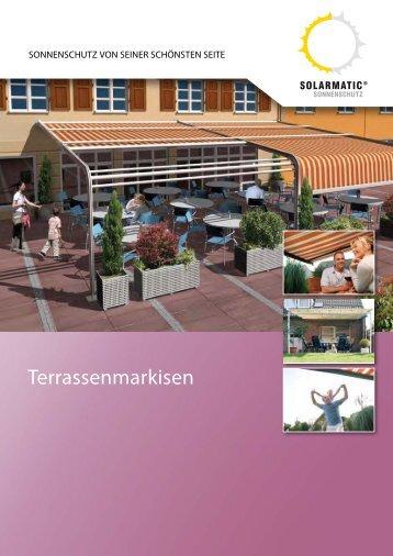 Terrassenmarkisen - Solarmatic