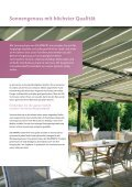 Terrassenmarkisen - Solarmatic - Seite 2