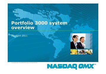 Presentation of the fund management system for pension