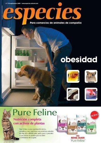 obesidad - Especies