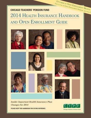 a copy of the 2014 Health Insurance Handbook. - Public School ...