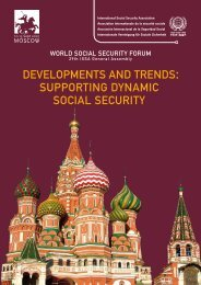 developments and trends supporting dynamic social security