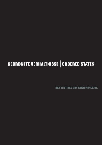 Download als pdf - Festival der Regionen