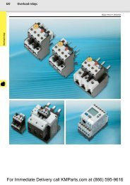 For Immediate Delivery call KMParts.com at ... - Moeller Electric Parts