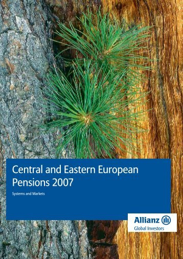 Central and Eastern European Pensions 2007