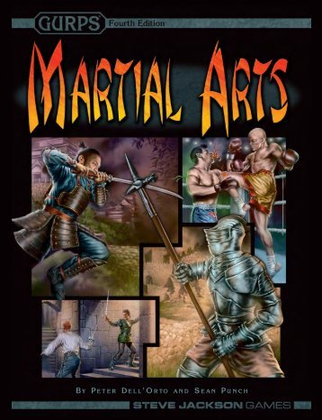 GURPS Martial Arts - Home
