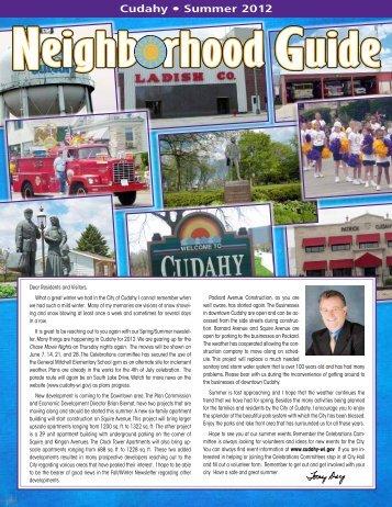 Cudahy • Summer 2012 - Neighborhood Guide
