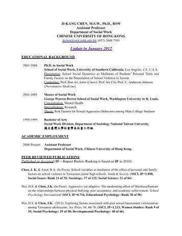 resume wizard hcyuen swk cuhk edu hk the chinese