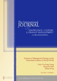 Tension of Managerial Change in the Emotional Labour of Social Work