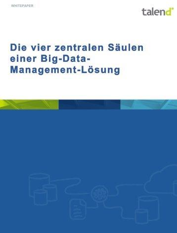 WP_DE_BD_Talend_4Pillars_BigDataManagement