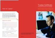 Trustee Certificate - IIPM