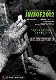 Guide to exhibit - Jimtof