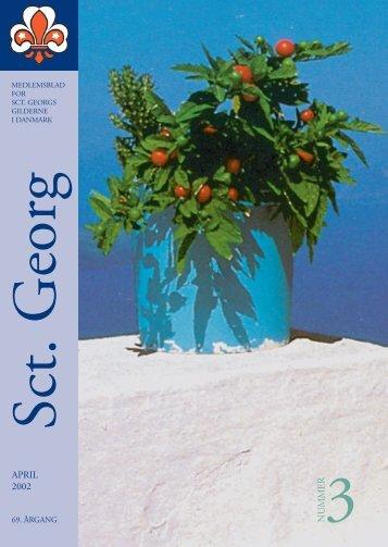 3NUMMER APRIL 2002 - Sct. Georgs Gilderne i Danmark