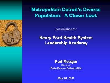 Metropolitan Detroit's Diverse Population - Data Driven Detroit