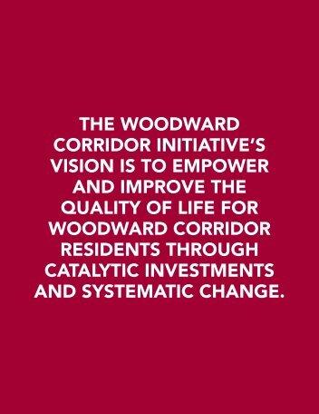 Woodward Corridor Initiative - Data Driven Detroit