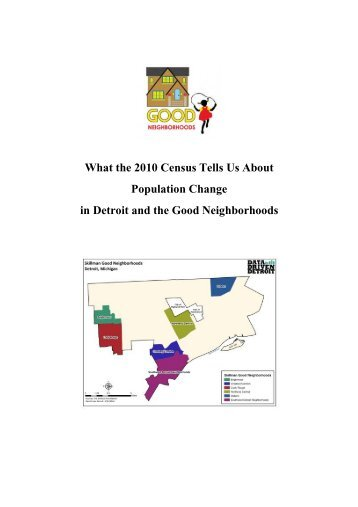 What the 2010 Census Tells Us About Population Change in Detroit ...