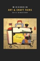 ART & CRAFT FAIRS - Wisconsin Department of Tourism