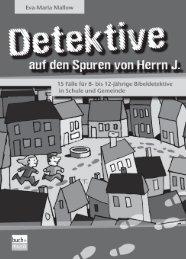 Leseprobe Detektive auf den Spuren von Herrn J