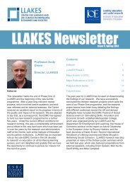 fifth annual LLAKES newsletter