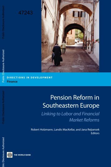 Linking to Labor and Financial Market Reform - World Bank