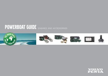 powerboat guide engines and accessories - Volvo Penta Service