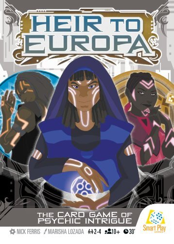Heir to Europa - Rules Cards - WEB