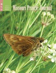 Spring 2007: Volume 28, Number 2 - Missouri Prairie Foundation