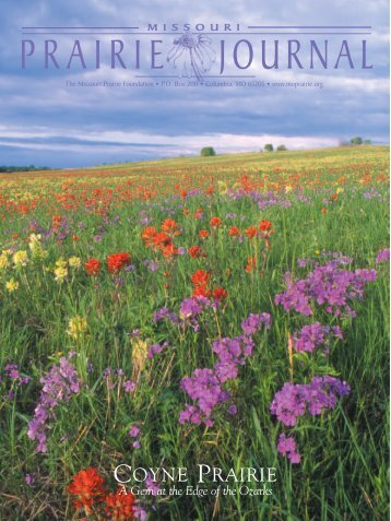Spring 2006: Volume 27, Number 2 - Missouri Prairie Foundation