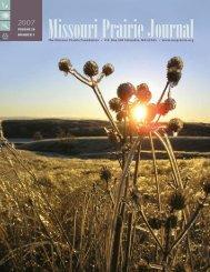 Winter 2007: Volume 28, Number 1 - Missouri Prairie Foundation