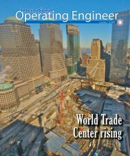 Summer 2009 - International Union of Operating Engineers