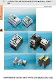 EASY Control Relays, MFD, Mini Contactor ... - Moeller Electric Parts