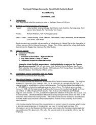 Board Meeting Minutes 12-08-11 (pdf) - NEMCMH.org