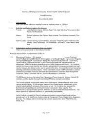 Board Meeting Minutes 11-08-12 (pdf) - NEMCMH.org