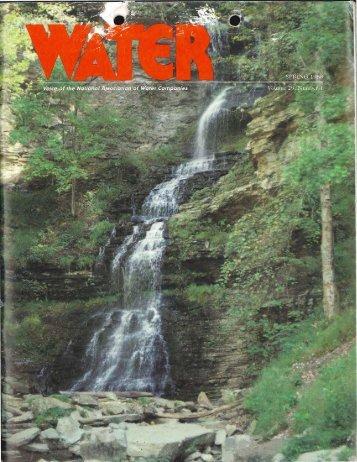 Vol 29, No. 1 - NAWC