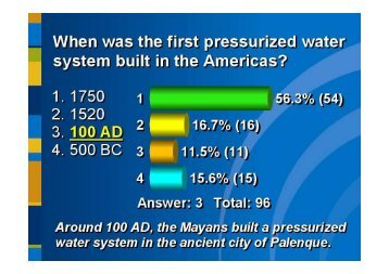 ARS Results - 2012 NAWC Water Summitt - Aventura - October 8-9 ...