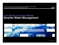 Smarter Water Management - NAWC