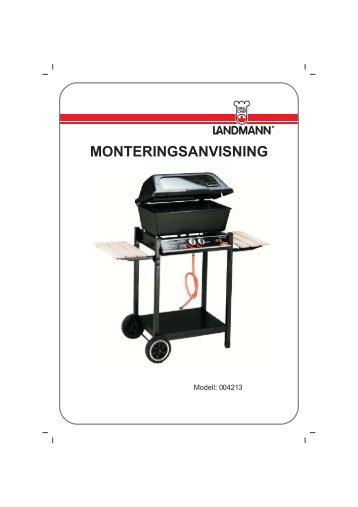 Monteringsanvisning - Landmann Norge AS