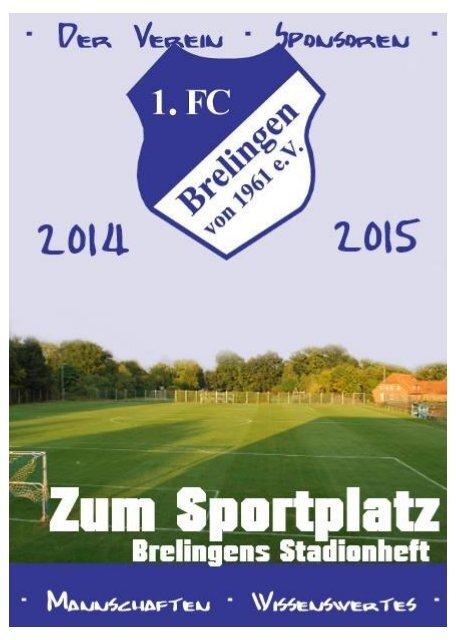 Zum Sportplatz - Brelingens Stadionheft - Rückrunde