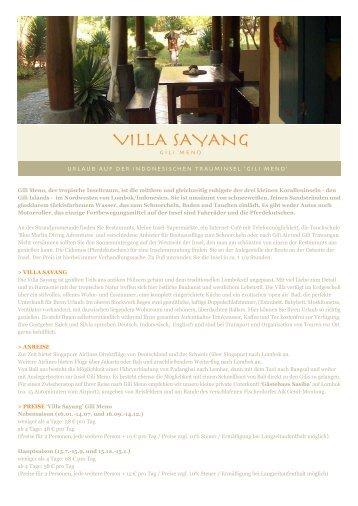Villa Sayang | Gili Meno