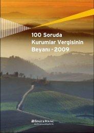 100 Soruda Kurumlar Vergisinin Beyan› - 2009