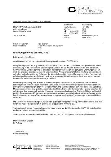Erfahrungsbericht LEIVTEC XV3