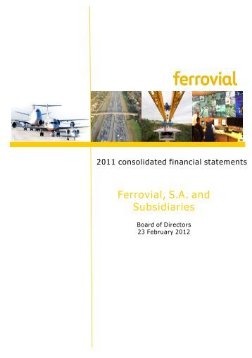 Download - Ferrovial - Annual Report 2012