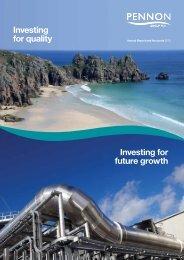 Download full report - Pennon Annual Report 2012