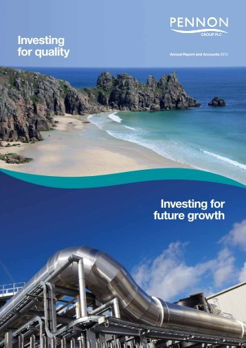 Download full report - Pennon Annual Report 2012