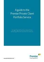 Premier Private Client Portfolio - Premier Asset Management