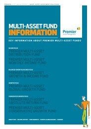 Premier Multi-Asset fund range - GUIDE - Premier Asset Management