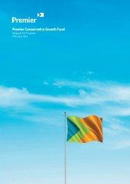Premier Conservative Growth Fund - Premier Asset Management