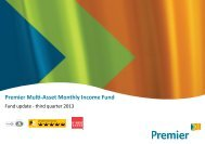 Premier Multi-Asset Monthly Income Fund