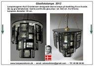 Lampe Reparation og Lampe-design- Skrot-lamper - Lampesamleren